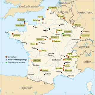 フランスの原発